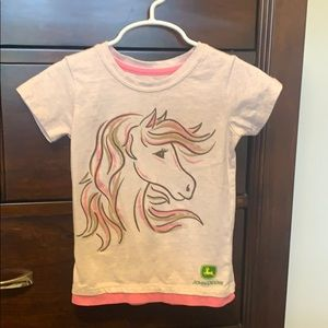 John Deere Toddler Girl T shirt